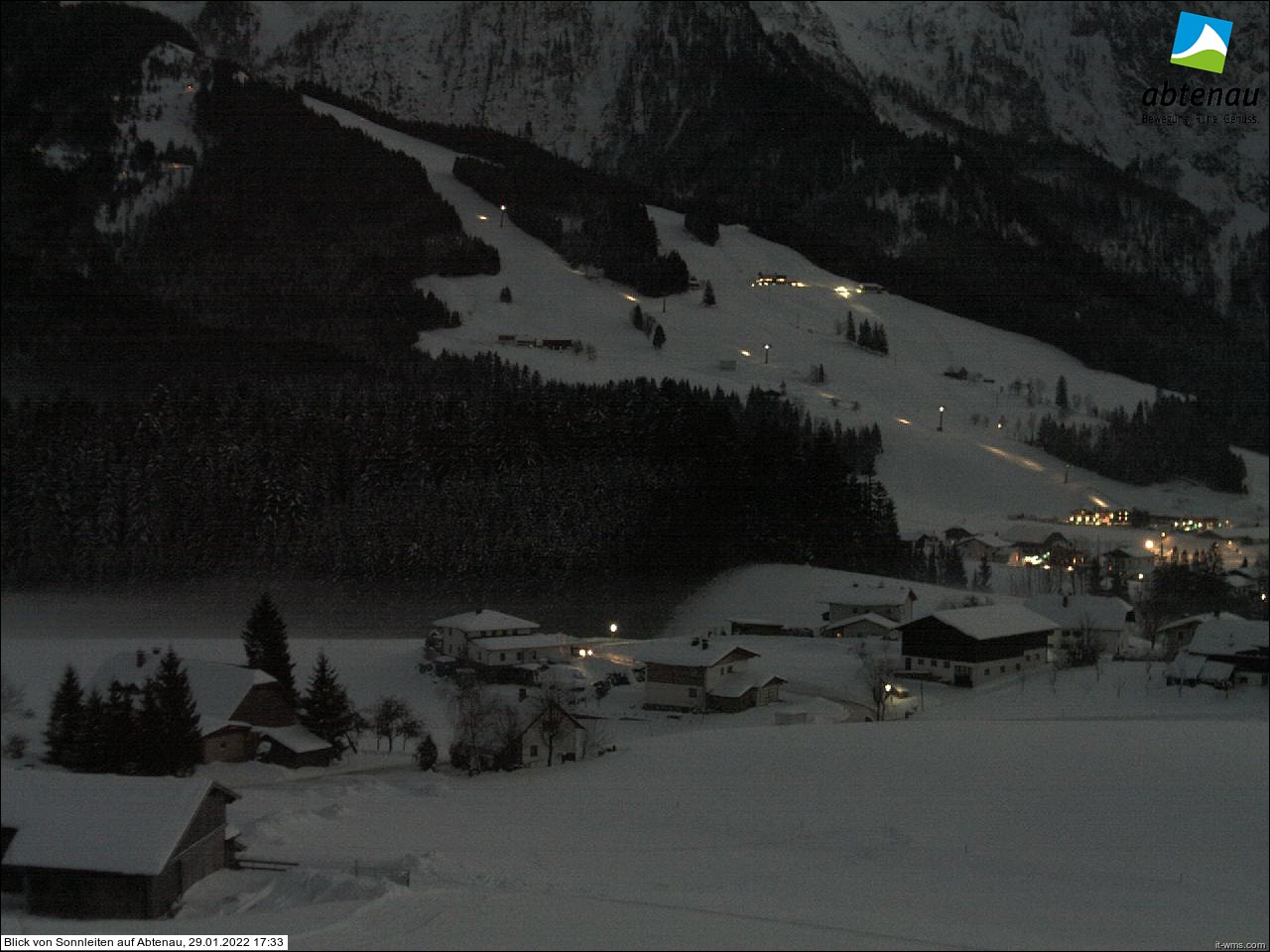 WEBkamera Abtenau - pohled na Karkogel